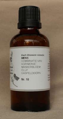BACH BLOESEM REMEDIE NR. 10  SUPERACTIE  50 ml.
