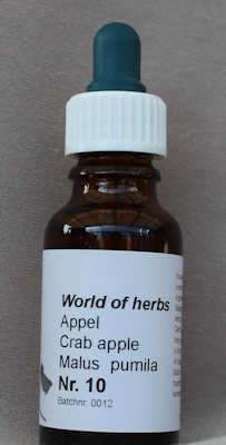 NR. 10   APPEL / CRAB APPLE / MALUS PUMILA  20 ml druppels