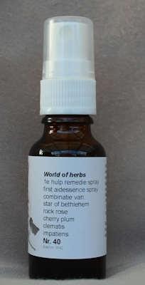 NR. 40  EERSTE  HULP REMEDIE SPRAY 20 ML SUPERACTIE  20 ml druppels