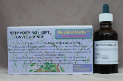 MELKVORMING/GIFT ; ONVOLDOENDE FYTOTHERAPIE 104  50 ml.
