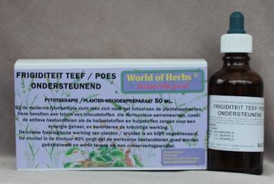 FRIGIDITEIT TEEF POES; ONDERSTEUNEND FYTOTHERAPIE 114  50 ml.