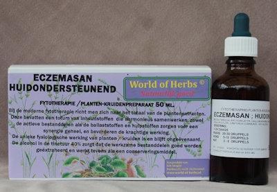 ECZEMASAN ; HUIDONDERSTEUNEND FYTOTHERAPIE 134  50 ml.