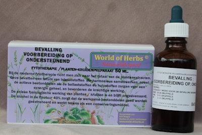 BEVALLING ; VOORBEREIDING OP, ONDERSTEUNEND FYTOTHERAPIE 141  50 ml.