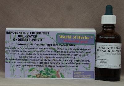 IMPOTENTIE / FRIGIDITEIT REU-KATER ; ONDERSTEUNEND  50 ml.