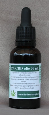 CBD-olie 5%  30 ml.