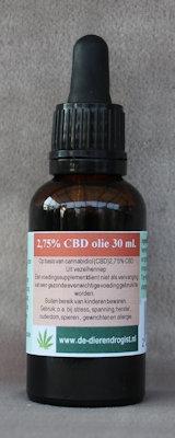 CBD-olie 2,75%  30 ml.