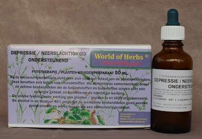 DEPRESSIE / NEERSLACHTIGHEID; ONDERSTEUNEND FYTOTHERAPIE 201  50 ml.