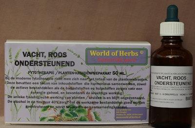 VACHT, ROOS ; ONDERSTEUNEND FYTOTHERAPIE 207  50 ml.