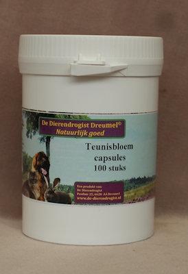 Teunisbloem ( oenothera biennis)  100 capsules
