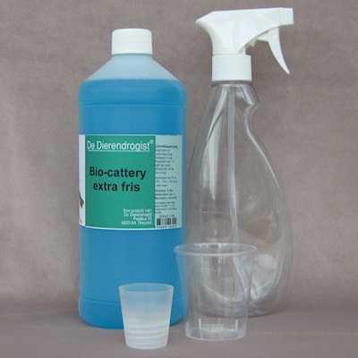 Bio-cattery extra fris starterspakket  1 liter