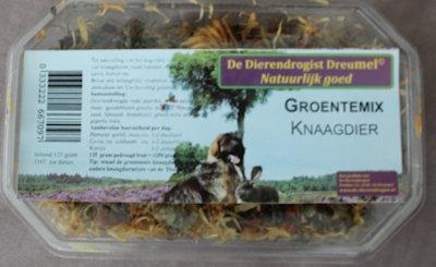 Groentemix  knaagdier  125 gram