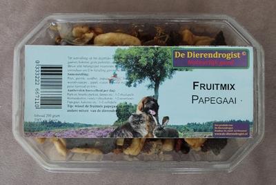 Fruitmix papegaai en papegaai-achtigen  200 gram