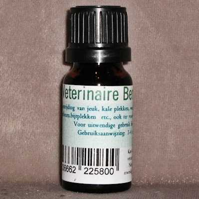 Berkenteerolie veterinair  10 ml.