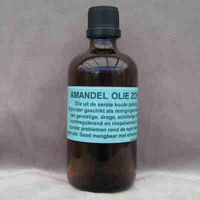 Basisolie Amandelolie  100 ml.
