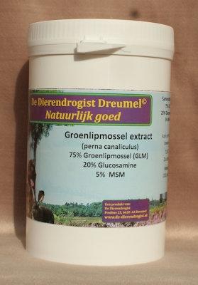 Groenlipmossel VETERINAIR met glucosamine en MSM