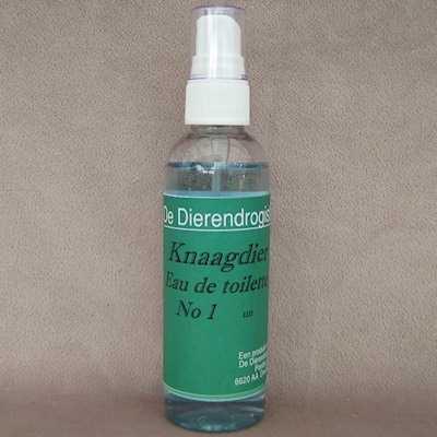 Knaagdier eau de toilette geur1 (UN)  100 ml.