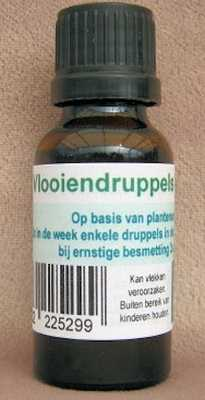 Vlooiendruppels  20 ml.