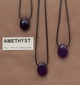 Amathyst edelsteen (Bolivia) kleur licht tot donker paars. 1 Edelsteen
