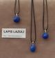 Lapis Lazuli edelsteen (Afghanistan) diep blauw gekleurd 1 Edelsteen