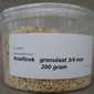Knoflook granulaat 3-4 mm. 100 gram